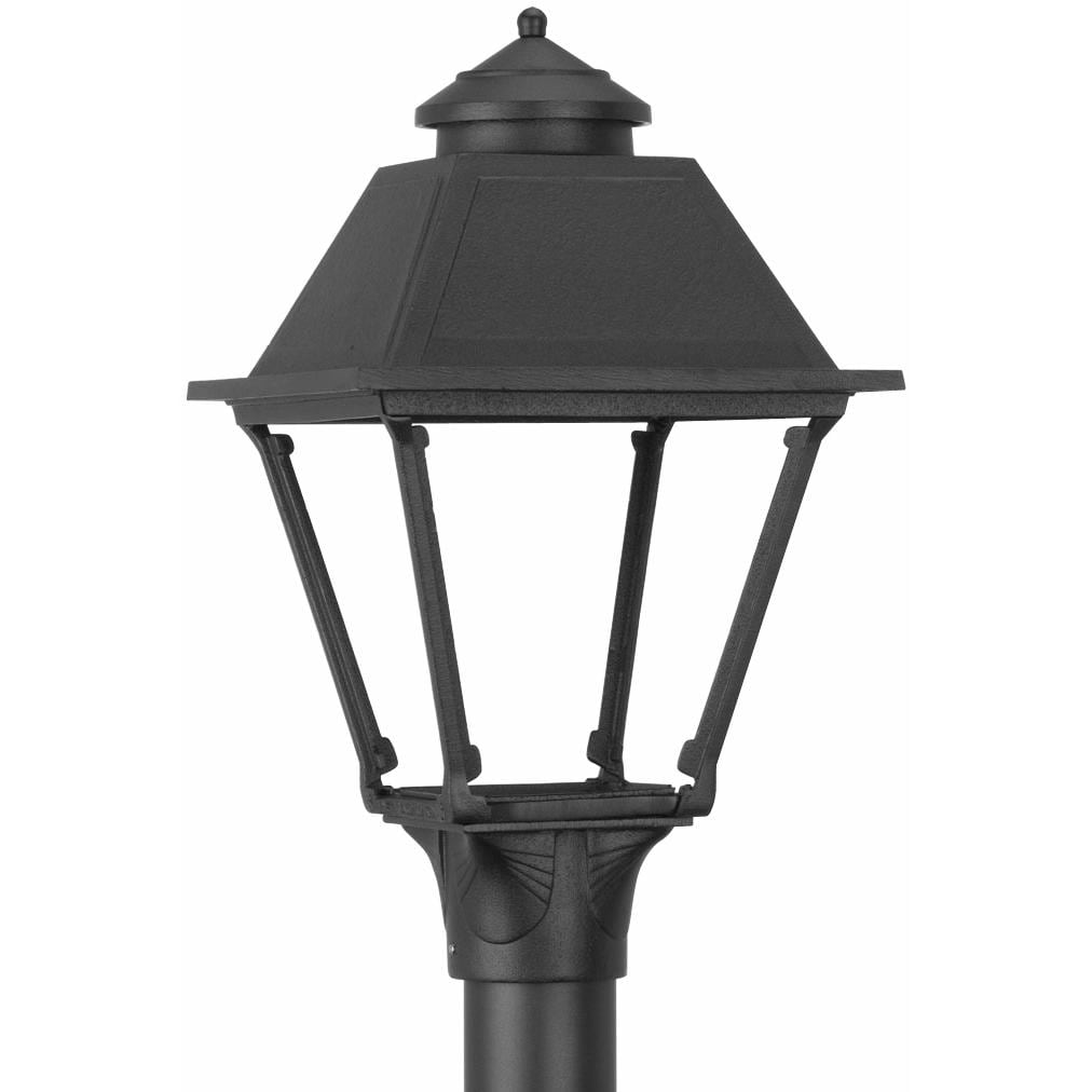 American Gas Lamp Works GL300 Cast Aluminum Manual Ignition Natural Gas Light With Dual Mantle Burner For Post Mount