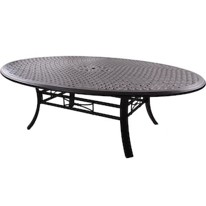 Darlee Series 99 78 X 59 Inch Cast Aluminum Patio Dining Table image