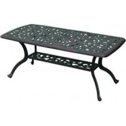 Darlee Series 80 42 X 21 Inch Cast Aluminum Patio Coffee Table image