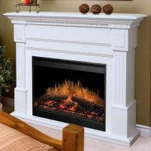 Dimplex Essex 54-Inch Electric Fireplace With Purifire - White - GDS30-1086W