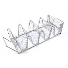 11 X 5-Inch Stainless Steel Taco Grill Rack