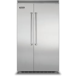 Viking 5 Series 48-Inch 29.05 Cu. Ft. Built-In Side-By-Side Refrigerator/Freezer -…