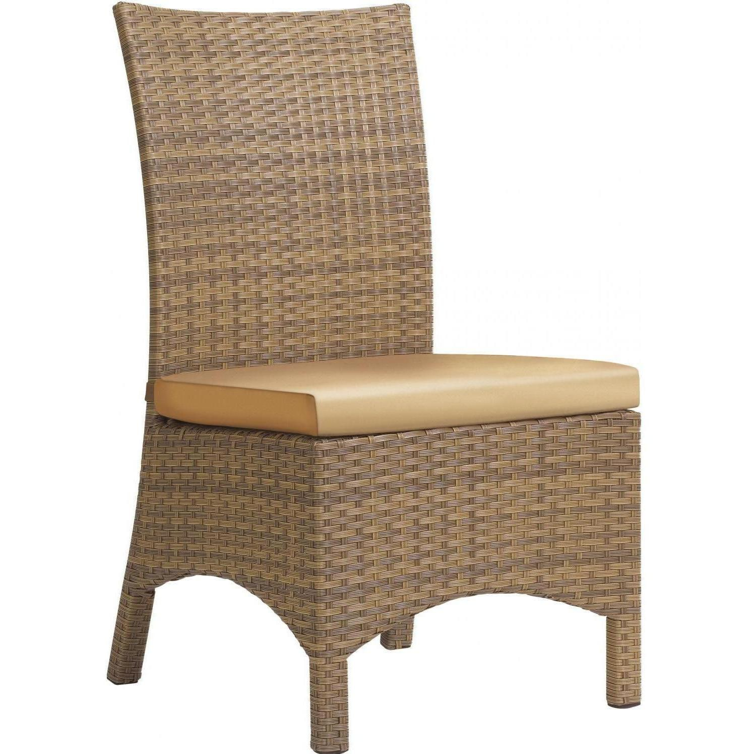 Torbay 7 Piece Wicker Patio Dining Set   Dining Side Chair