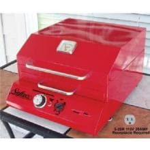 Electri-Chef Safire 16-Inch Tabletop 115-Volt Electric Grill - Electri-Chef Red - 4400-EC-224/115-TT-16-ER Electri-Chef Safire 16-Inch Table Top 115-Volt Electric Grill - Electri-Chef Red - Lifestyle View
