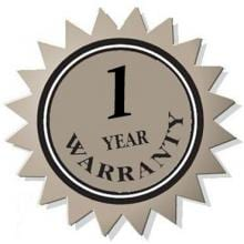 1 Year - Major Appliance Warranty Under 10000.00