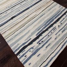 Jaipur Rugs Colours Sketchy Lines 2 X 3 Indoor/Outdoor Rug - Ivory/Blue Jaipur Rugs Colours Sketchy Lines 2 X 3 Indoor/Outdoor Rug - Angle View