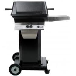 PGS A30 Cast Aluminum Propane Gas Grill On Black Portable Pedestal Base image