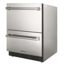 Luxor 24-Inch 4.5 Cu. Ft. Outdoor Rated Refrigerator Drawers - AHT-OD-RF2