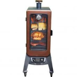 Pit Boss Copperhead 3 Series 25-Inch Vertical Pellet Smoker w/ Window - 77350 image