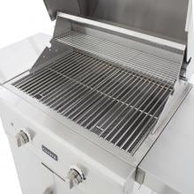 Coyote C-Series 28-Inch 2-Burner Freestanding Natural Gas Grill - C1C28NG-FS Coyote C-Series 28-Inch Freestanding Gas Grill - Cooking Grates And Warming Rack