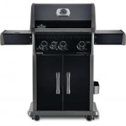 Napoleon Rogue 425 Propane Gas Grill with Infrared Side Burner - Black Edition - R425SIBPBE image