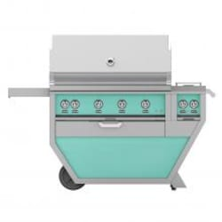 Hestan Deluxe 42-Inch Natural Gas Grill W/ Rotisserie & Double Side Burner - Bora Bora - GABR42CX2-NG-TQ image