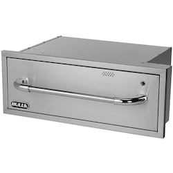 Bull 30-Inch Built-In Warming Drawer - 110V Electric, Stainless Steel - 85747