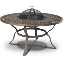 Real Flame Florence 47-Inch Wood Burning Fire Pit Table