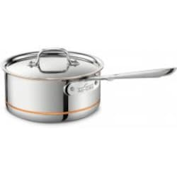 All-Clad Copper-Core 2-Quart Sauce Pan With Lid image