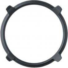 DCS Commercial Cast Iron Wok Ring For Indoor Cooktops - WRS DCS Commercial Cast Iron Wok Ring - Top View