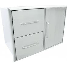 Saber 31-Inch Access Door & Double Drawer Combo image