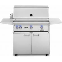 Lynx Professional 36-Inch Freestanding Natural Gas Grill With One Infrared ProSear Burner And Rotisserie - L36PSFR-2-NG Lynx 36-Inch Gas Grill With Trident ProSear Burner And Rotisserie On Cart