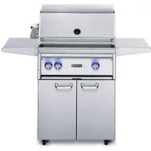Lynx Professional 27-Inch Freestanding Propane Gas Grill With Rotisserie - L27FR-2-LP Lynx 27-Inch Gas Grill With Rotisserie On Cart