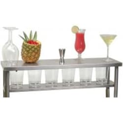 Alfresco Serving Shelf With Light Accessory For 30-Inch Apron Sink - HS-30 image