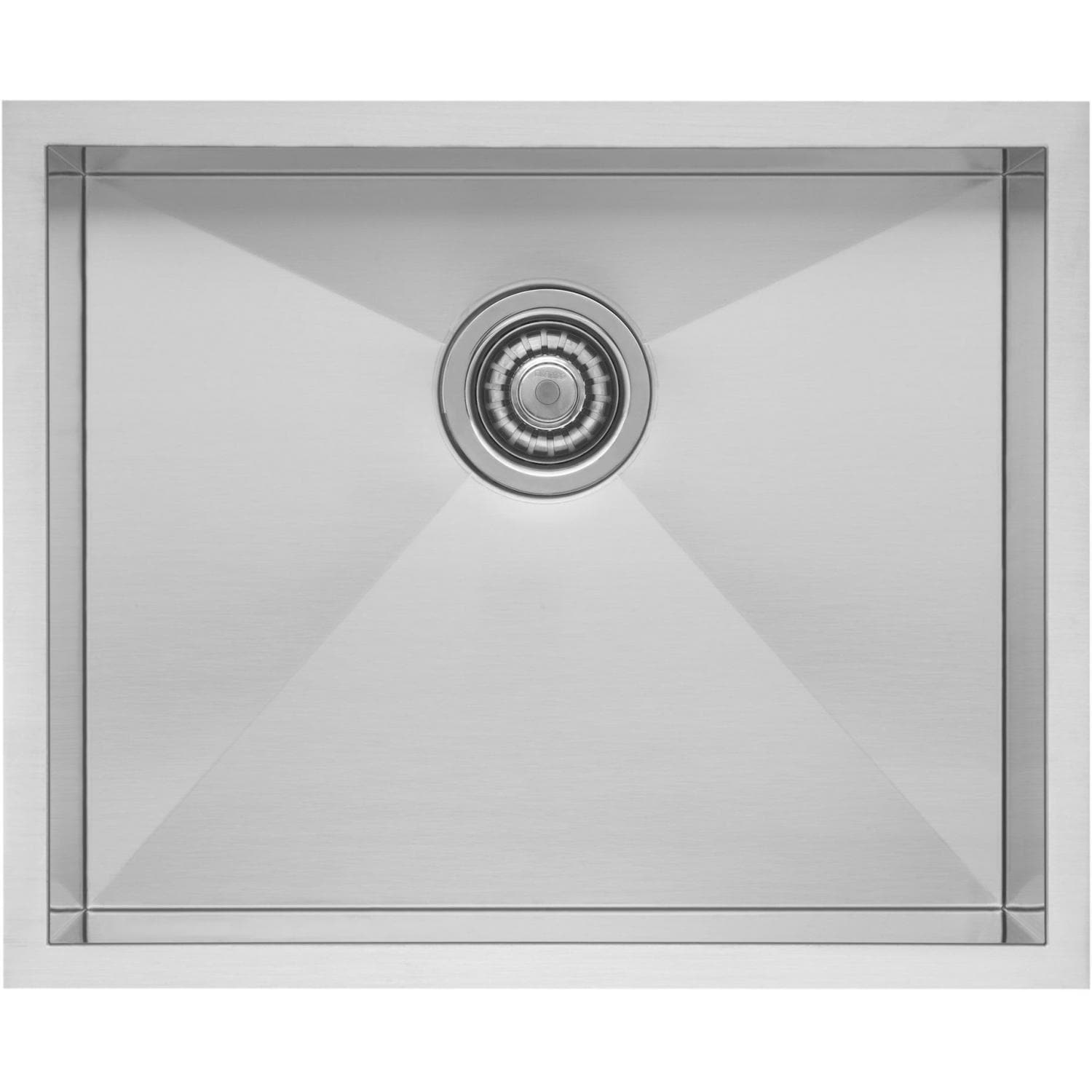 Blanco Precision Small 22 X 18 18-Gauge Single Bowl Stainless Steel Undermount Sink - 516210