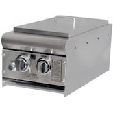 ProFire Deluxe Built-In Propane Gas Double Side Burner - PFDLXDSB-P