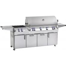 Fire Magic Echelon Diamond E1060s 48-Inch Freestanding Natural Gas Grill W/ Analog Thermometer And Power Burner - E1060s-4EAN-51 Fire Magic Echelon Diamond E1060s 48 Inch A Series Freestanding Grill