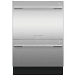 Fisher Paykel DD24DDFTX9 Double Dish Drawer Flat Door - Stainless Steel image