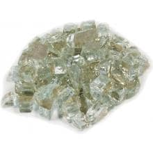 Alpine Flame 1/4-Inch Crystal Reflective Fire Glass - 10 Lbs