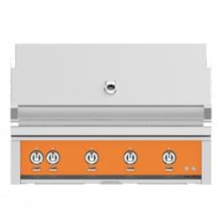 Hestan 42-Inch Built-In Natural Gas Grill W/ Sear Burner & Rotisserie - Citra - GMBR42-NG-OR image