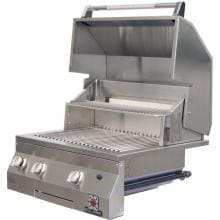Solaire 27 Inch Deluxe Built-In All Convection Natural Gas Grill With Rotisserie - SOL-AGBQ-27GXL-NG