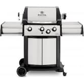 Broil King Signet 70 3-Burner Freestanding Natural Gas Grill With Rotisserie - Stainless Steel