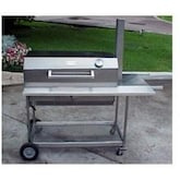 Texas Barbecues 200 Stainless Charcoal Grill