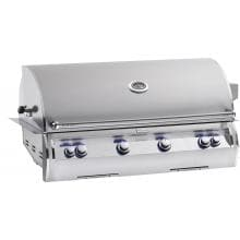 Fire Magic Echelon Diamond E1060i 48-Inch Built-In Natural Gas Grill With One Infrared Burner And Analog Thermometer - E1060i-4LAN Fire Magic Echelon Diamond E1060i A Series Natural Gas Built-in Grill With One Infrared Burner