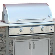 ProFire Professional Deluxe Series 36-Inch Built-In Natural Gas Grill With SearMagic Grids - PFDLXSM36G-N