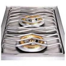 Sunstone Slide-In Natural Gas Double Side Burner - 2CSB-NG Sunstone Double Side Burner - Grates and Burners
