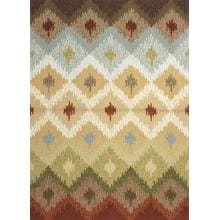 Jaipur Rugs Barcelona Pedra 7.6 X 9.6 Indoor/Outdoor Rug - Ivory/Multi image