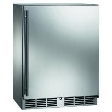 Perlick Signature Series Sottile 3.1 Cu. Ft. Right Hinge Built-In Compact Refrigerator - Stainless Steel - HH24RS-3-1R image