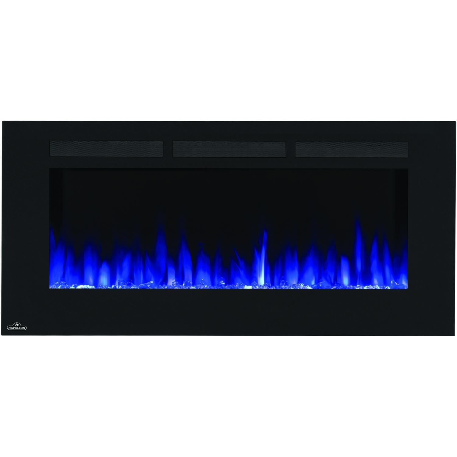 napoleon allure 50 inch wall mount electric fireplace nefl50fh