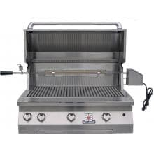 Solaire 36 Inch Built-In All Infrared Propane Gas Grill With Rotisserie - SOL-AGBQ-36IR-LP Solaire 36 Inch Built-In Infrared Grill With Rotisserie