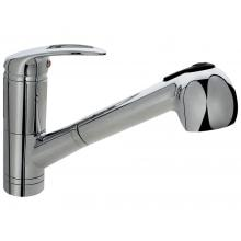 SIR Faucets Single Top Handle Pull Out Kitchen Faucet - Chrome
