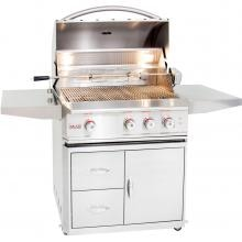Blaze Professional 34-Inch 3-Burner Freestanding Natural Gas Grill With Rear Infrared Burner image