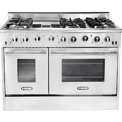51711aaaaed NXR 48-Inch 6-Burner And Griddle Natural Gas Professional Range DRGB4801