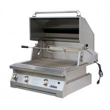 Solaire 30 Inch Built-In All Infrared Propane Gas Grill With Rotisserie - SOL-AGBQ-30IR-LP
