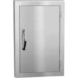Summerset 17-Inch Stainless Steel Masonry Single Access Door - Vertical - SSDV-20M image