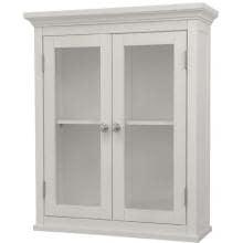 Elegant Home Fashions Madison Wall Cabinet W/ 2 Doors 7046 Full View