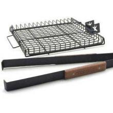 11 X 14-Inch Ultimate Grilling Basket W/ Detachable Handle Charcoal Companion 11 X 10-Inch Ultimate Grilling Basket - Handle Detached