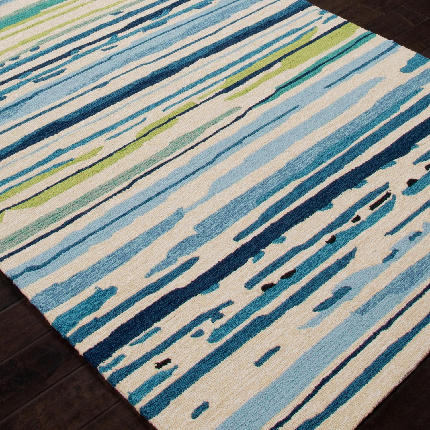 Jaipur Rugs Colours Sketchy Lines 2 X 3 Indoor/Outdoor Rug   Angle View