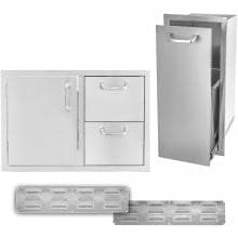 BBQGuys.com Kingston Series 4-Piece Outdoor Kitchen Storage Package image