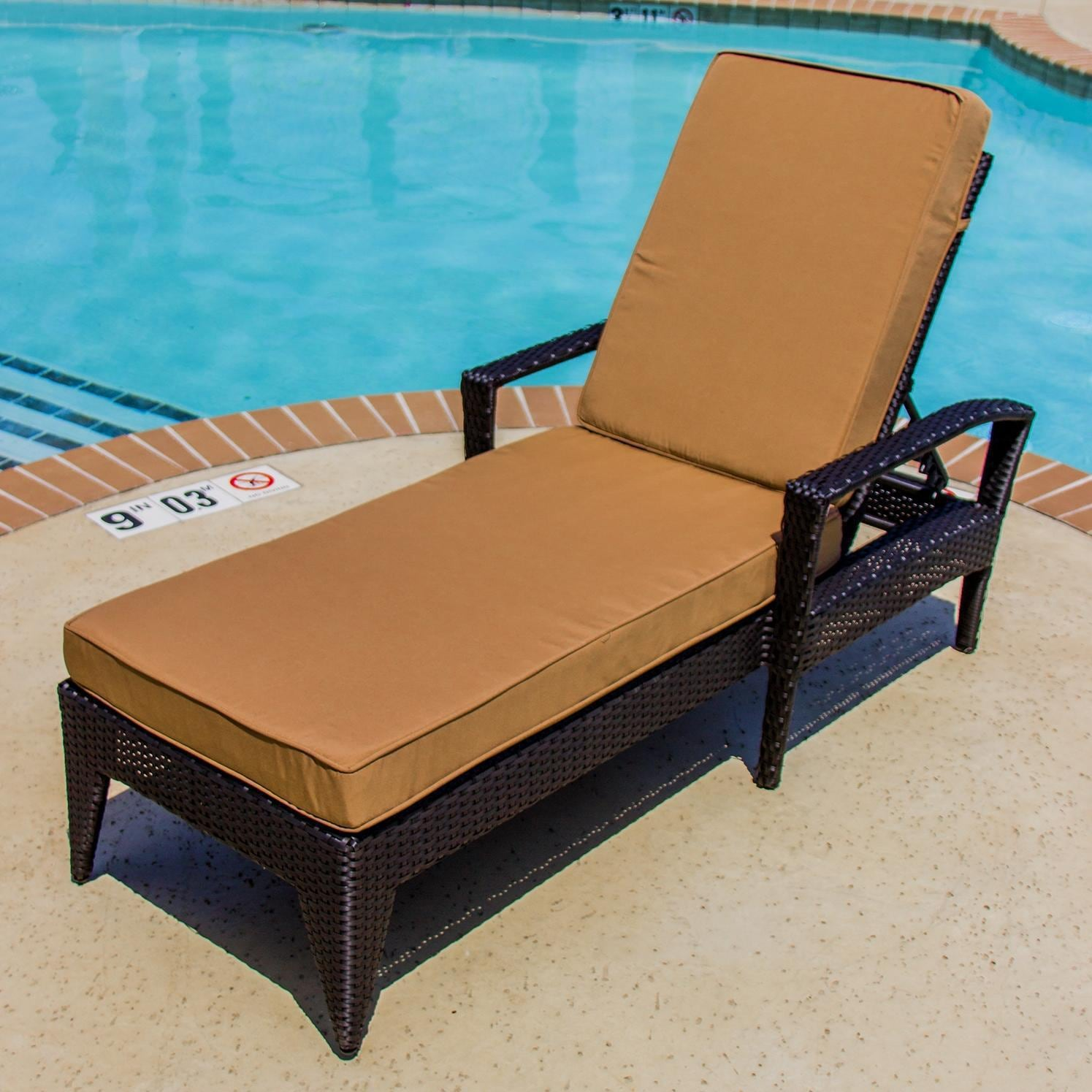Providence 3 Piece Resin Wicker Patio Chaise Lounge Set With Arms